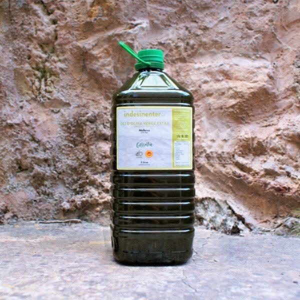 Oli d'oliva verge extra – Arbequina 100 % – DO Oli de Mallorca (5000 ml)